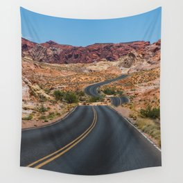 Valley of Fire - Nevada USA Wall Tapestry