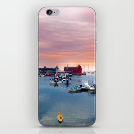 Landscape of Motif #1 (Rockport, Ma) iPhone Skin