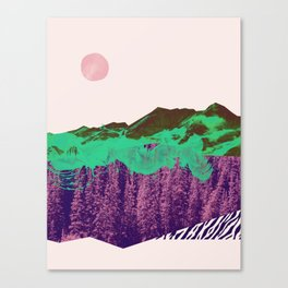 Lost track Canvas Print