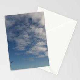 Melbourne Sky FLY 09/09/2017 10:31:31 38.36/144.89 Stationery Cards