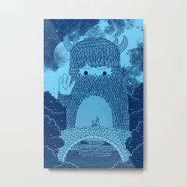 Hello Little Creature Metal Print