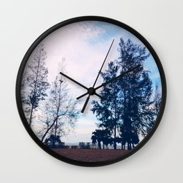 Lonely Islet Wall Clock