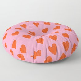 Love Hearts Floor Pillow