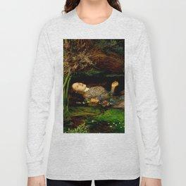 "John Everett Millais ""Ophelia"" Long Sleeve T-shirt"