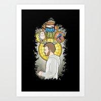 bon iver Art Prints featuring Bon Iver by Giopota