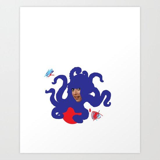 LADYMON Art Print