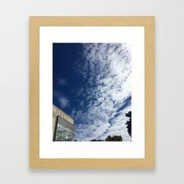 Workday Framed Art Print