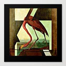 Flamingo Duet 1 Canvas Print