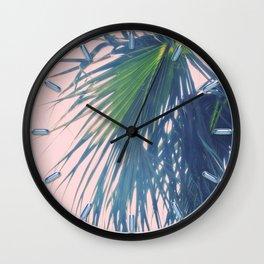 Palm Reverie Wall Clock