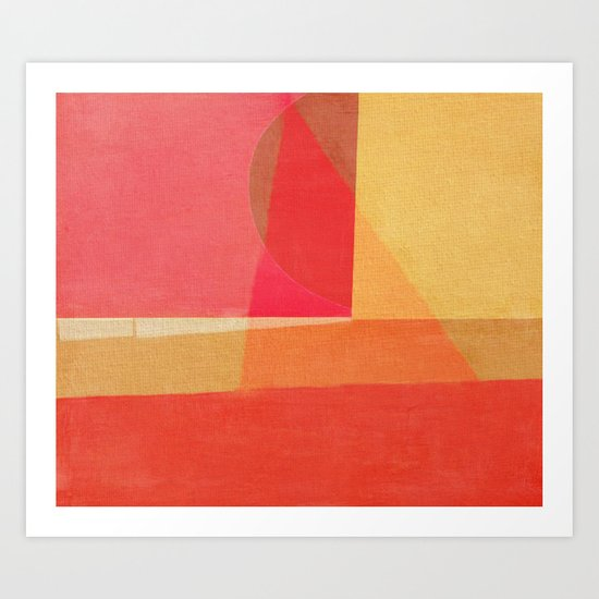 Sailing on a Hot Afternoon Art Print
