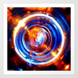 Centrifugal Light part 4 Art Print