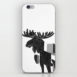 moose_deconstructed iPhone Skin