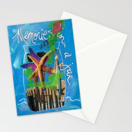 MEMORIES IN A JAR  by Seattle Artist Mary Klump Stationery Cards