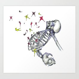 Butterflies In My Tummy Art Print