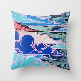 Cake Clouds Throw Pillow