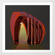 Entrance To The Unknown / Elephant 2 Art Print