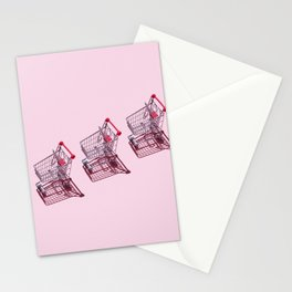 Shopping Carts Stationery Cards