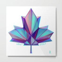Canada 150 // Cool Metal Print