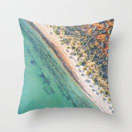 Denham  - Western Australia Throw Pillow