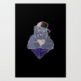 Sozoryoko Original Branding - Fancy Bear Art Print
