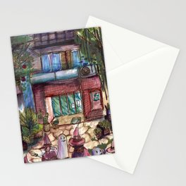 architecture magic Stationery Cards