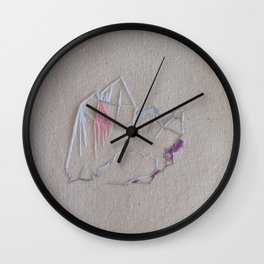 Ozark Crystals I Wall Clock
