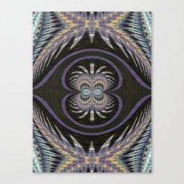 Wart Eye Pattern 8 Canvas Print