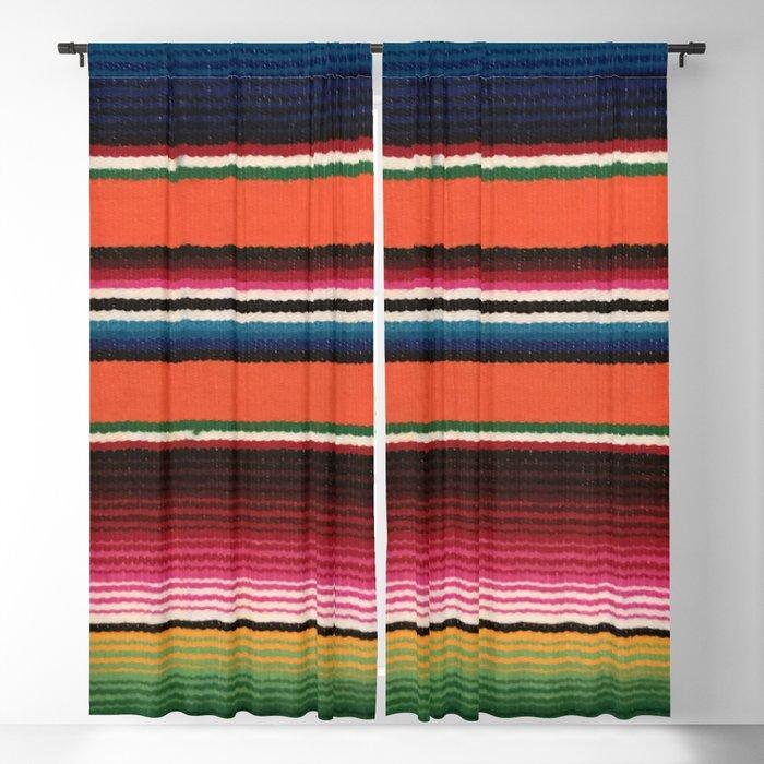 BEAUTIFUL MEXICAN SERAPE Blackout Curtain