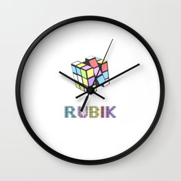 RUBIK Wall Clock