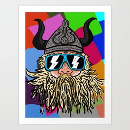 When i was a Viking Art Print