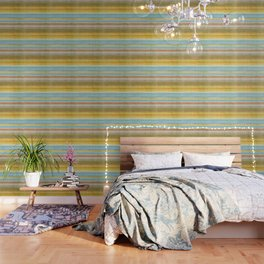 Colorbands Yellowstone Yellow Wallpaper