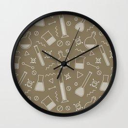 Alchemy pattern Wall Clock