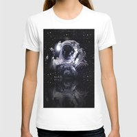 astronaut T-shirts featuring ASTRONAUT. by capricorn