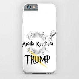Magic Spell Trump iPhone Case