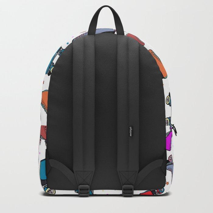 Roller derby colorful Backpack