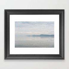 Champlain Lake - Vermont Framed Art Print