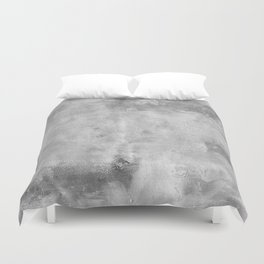 Simply Concrete Gray - Mix and Match with Simplicity of Life Duvet Cover