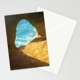 A window to the sea Stationery Cards