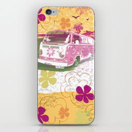 girl camper iPhone Skin