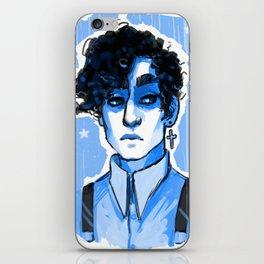 Strange Blue Boy iPhone Skin