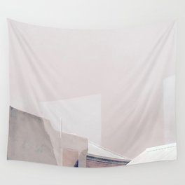 Rooftop Reflections Wall Tapestry