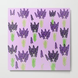 Lavender Scent Metal Print