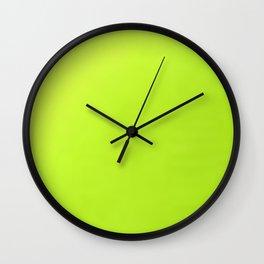 Electric Colors Wall Clock