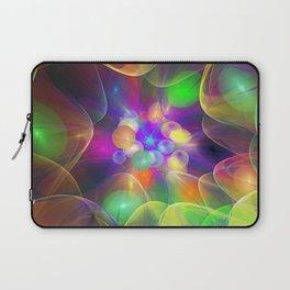 Colourful Light bulbs, fractal abstract Laptop Sleeve
