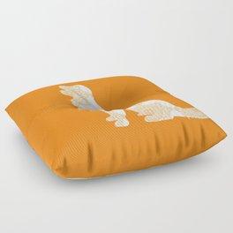 Golden Retriever d Floor Pillow