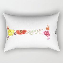 monograms - I Rectangular Pillow