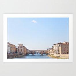 Ponte Vecchio II Art Print