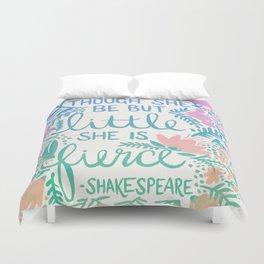 Little & Fierce – Lavender Mint Ombré Duvet Cover