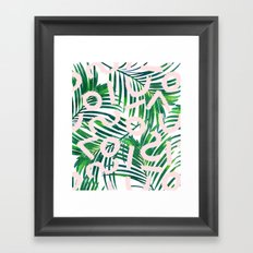 Palm Blabber #society6 #decor #buyart Framed Art Print