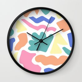 Playful Puzzle Wall Clock